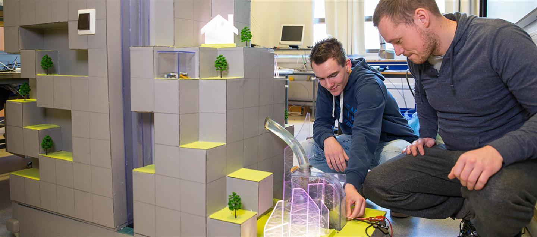 Studentpraksis - få deltidsjobb ved å studere Elkraftteknikk i Førde